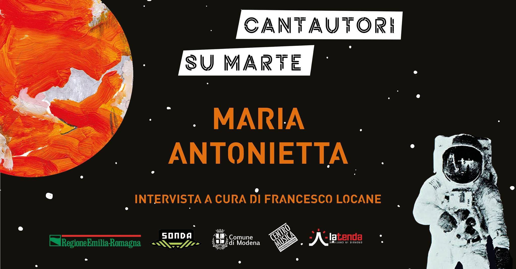 Modena @La Tenda – Cantautori su Marte